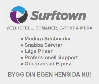 Surftown - Webhosting - Domains - Email