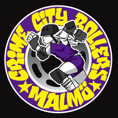 crime city rollers logo