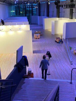 Just nu byggs Sydsveriges största konstutställning