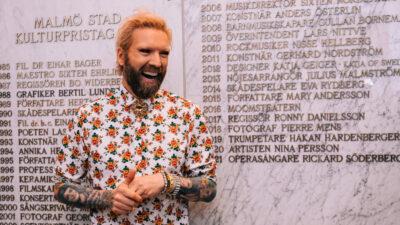 Malmö stads kulturpris 2021 går till Rickard Söderberg