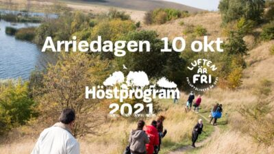 Hundratals tar bussen ut i naturen under familjedag i Arriesjön strövområde